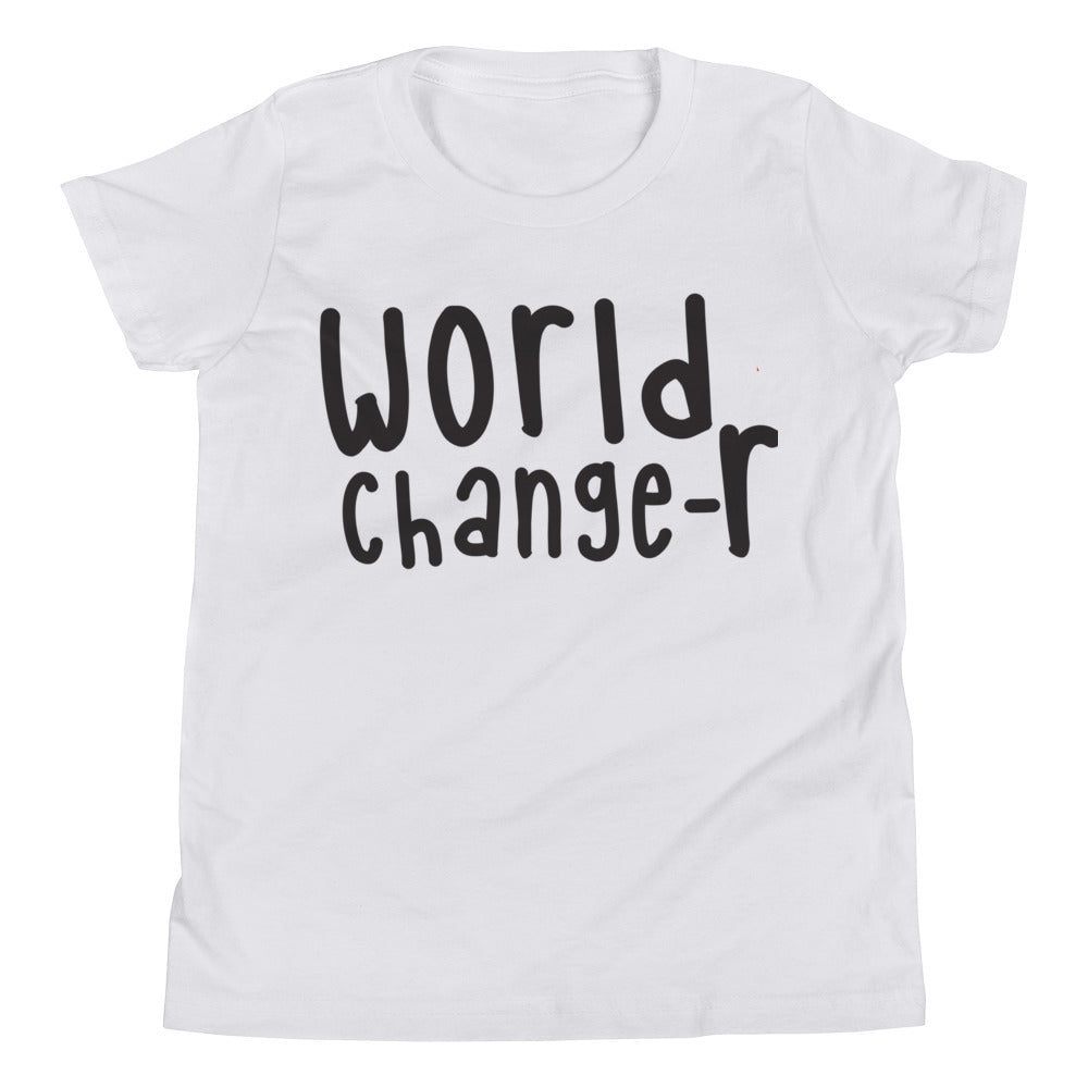 White Youth World Changer T-Shirt
