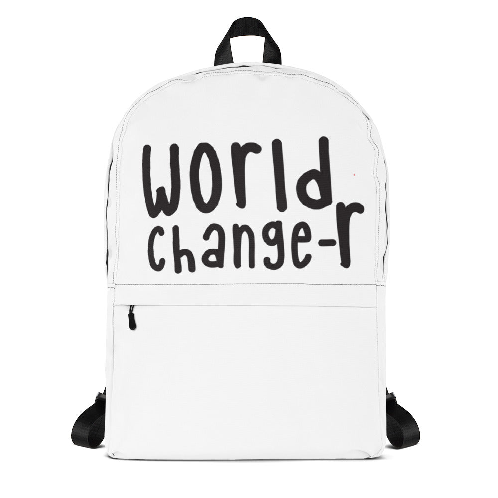 White World Changer Backpack