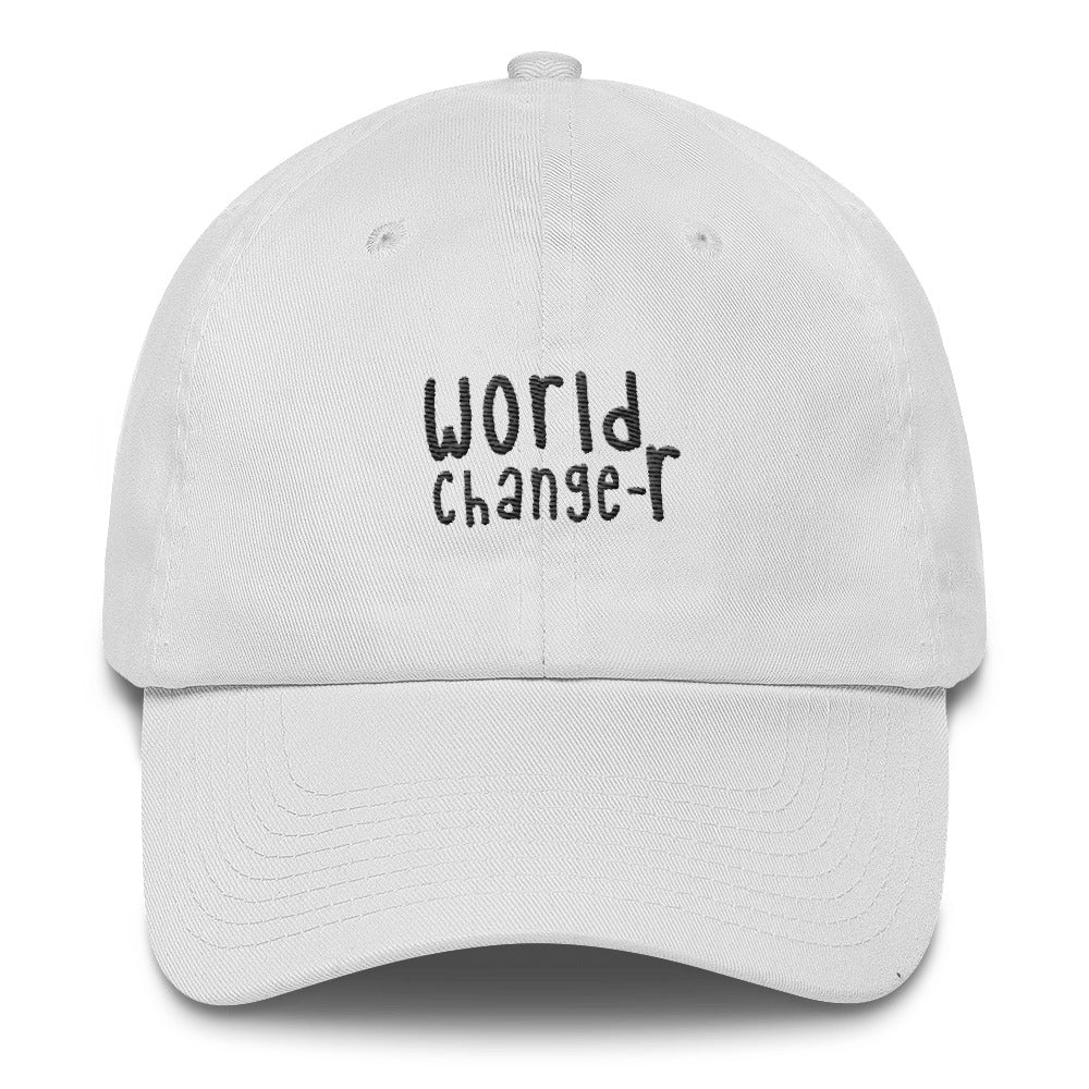 World Changer - Classic Hat - White