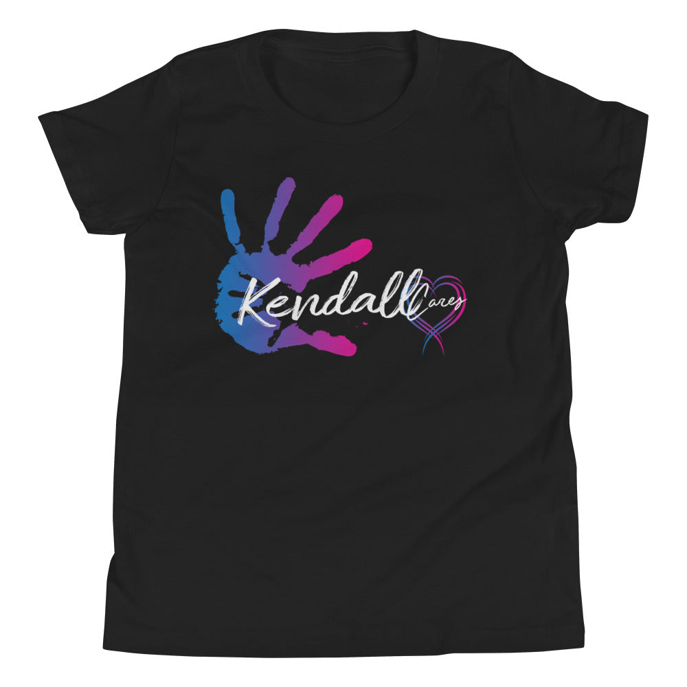 Kendall Cares Short Sleeve Logo T-Shirt