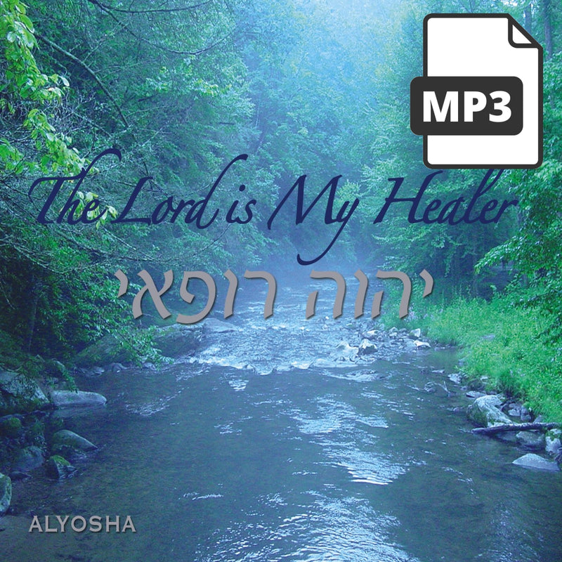 The Lord Is My Healer - Alyosha Ryabinov (MP3 Album)