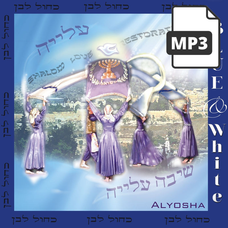 Blue And White - Alyosha Ryabinov (MP3 Album)