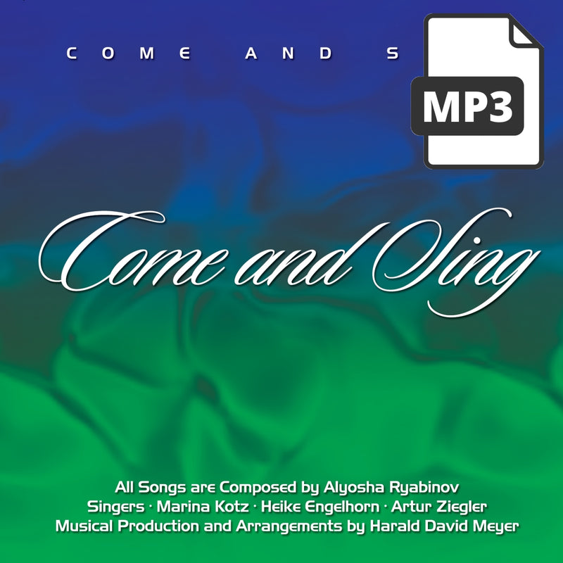 Come And Sing - Alyosha Ryabinov (MP3 Album)