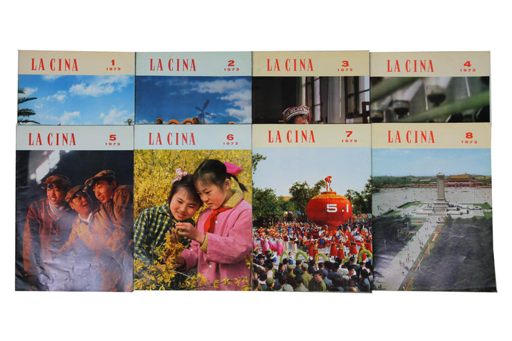 'La Cina' magazine, complete collection