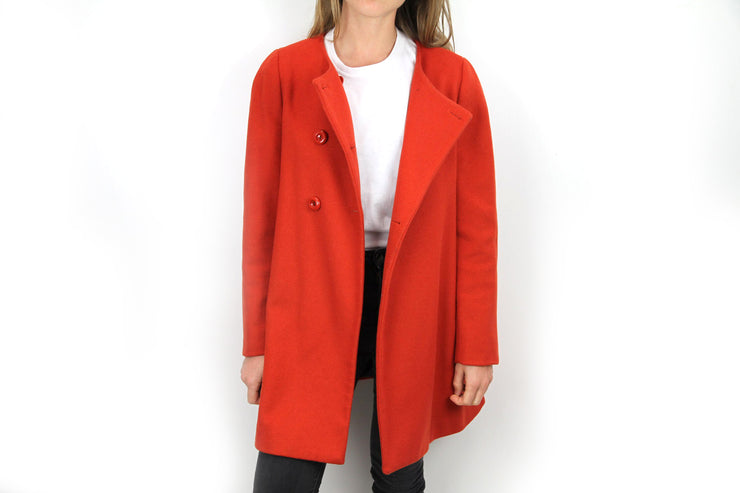 Red coat by Max and Co