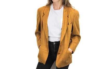 Wool blazer by Burberrys