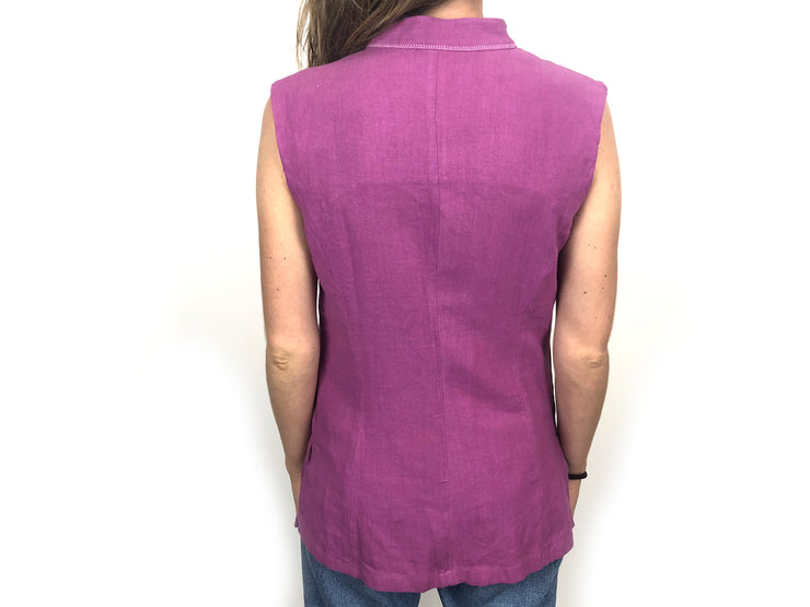 Purple sleeveless