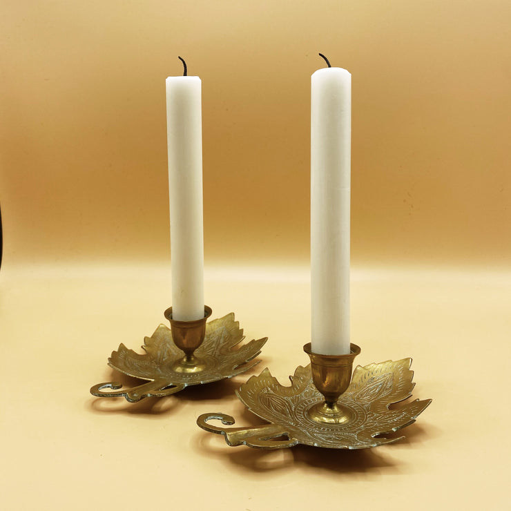 Leaves Candle Holders