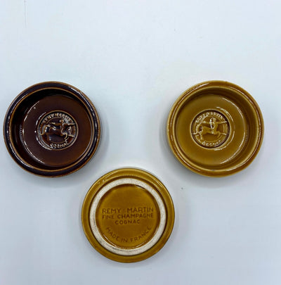 Remy Martin Ceramic Ashtray - SET