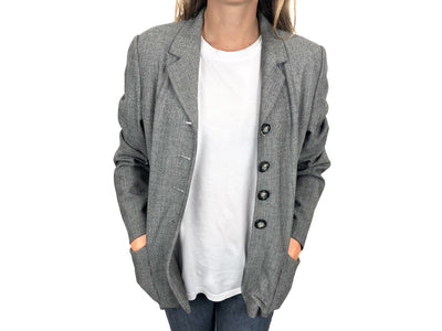 Wool grey jacket