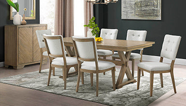 Choosing Between A Round and Rectangular Table for The Dining Room