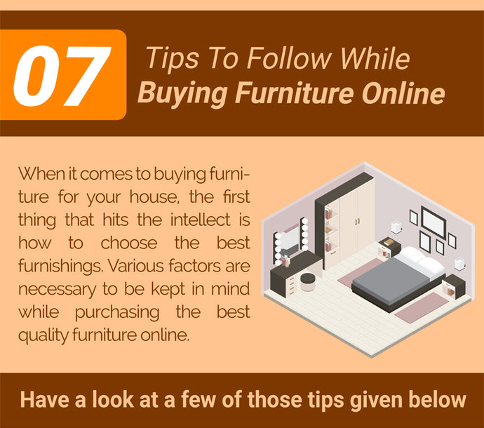 07 Tips To Follow While Buying Furniture Online