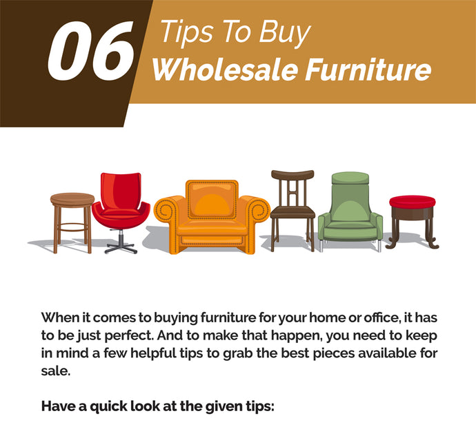 06 Tips To Buy Wholesale Furniture