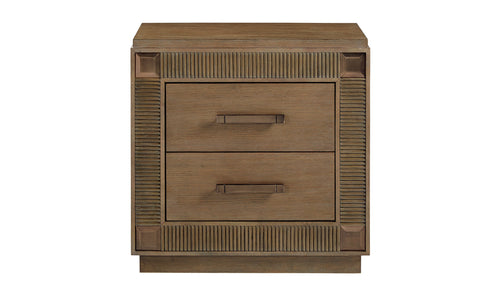 PARK AVENUE 2DRAWER NIGHTSTAND