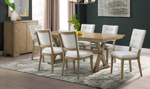 CHEVRON DINING SIDE CHAIR