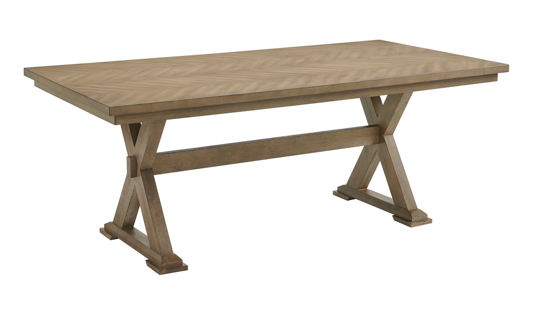 CHEVRON RECTANGLE TABLE