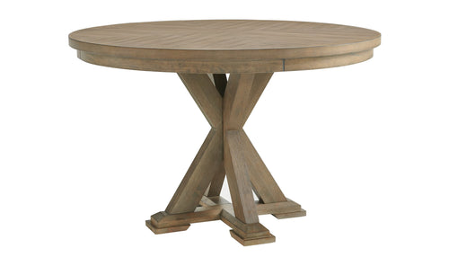 CHEVRON ROUND TABLE
