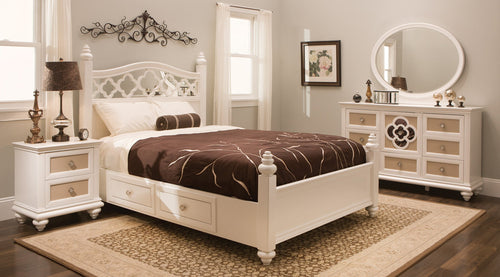 PARIS PANEL BED