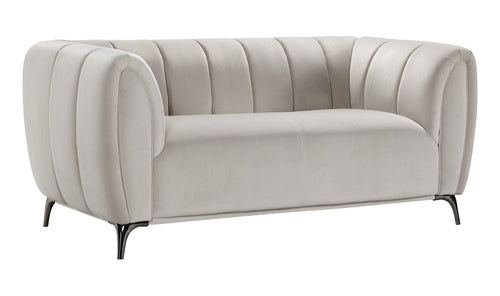 ROMA LOVESEAT - PEBBLE