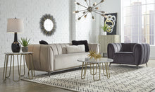 Load image into Gallery viewer, ROMA LOVESEAT - GUNMETAL