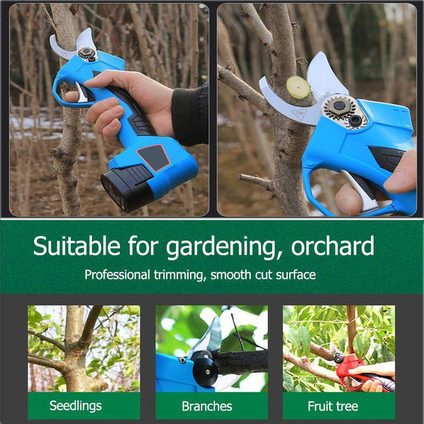 Cordless Branch Scissors - Electric Pruner Shear