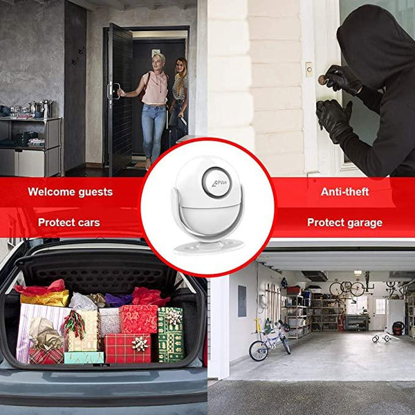 Wireless Infrared Home Security System