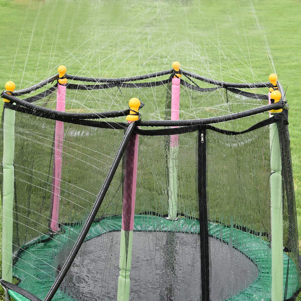 Trampoline Water Sprinkler - Outdoor Summer Water Sprinkler