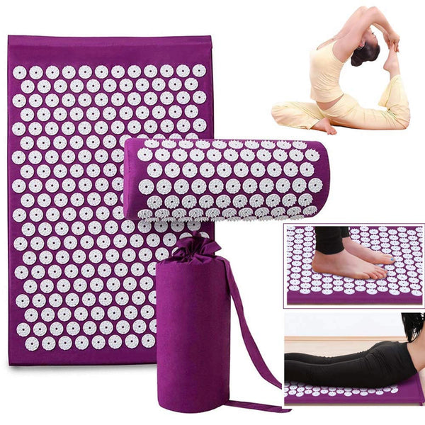 RelaxMat™ - Therapy Acupressure Mat/Pillow Set