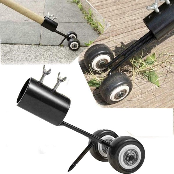 Weeds Snatcher Puller- No-Bend Gardening Head Steel