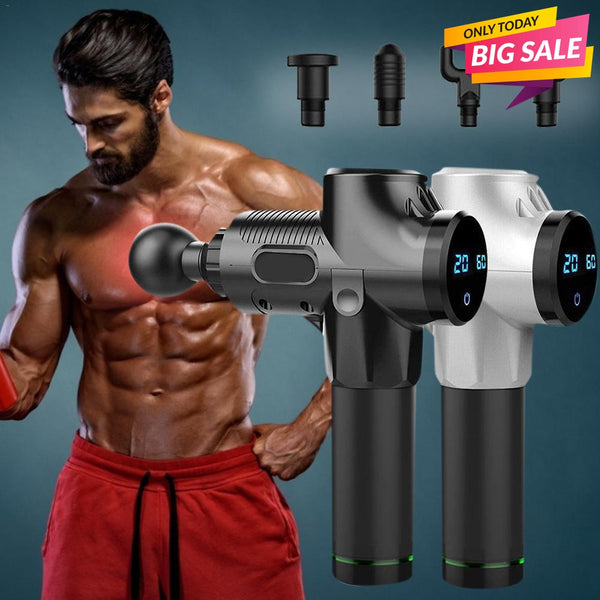 PHYSIX™ - PROFESSIONAL PERCUSSION MASSAGE GUN-Sports-TopDealHunter