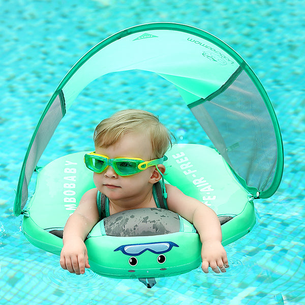 Baby Float With UV Canopy - Baby Smart Swim Trainer
