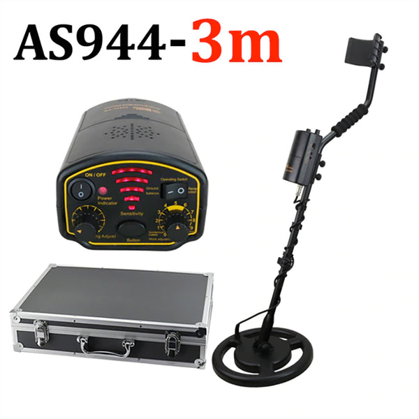 Waterproof Metal Detector - 1200mAh Battery Gold - Depth 1.5M - 1.8M - 3M