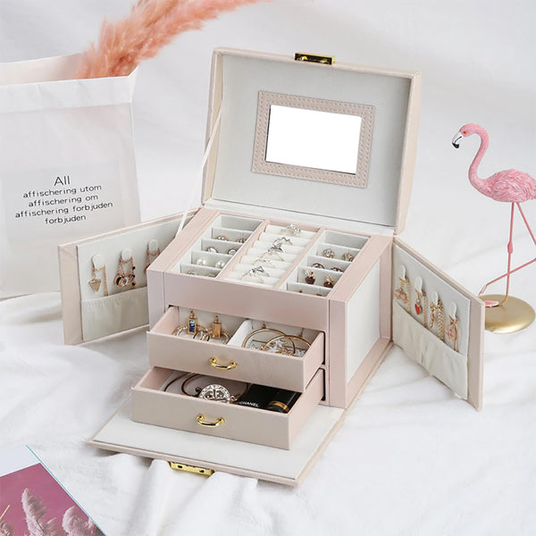 Butterfly Jewellery Box With Mirror