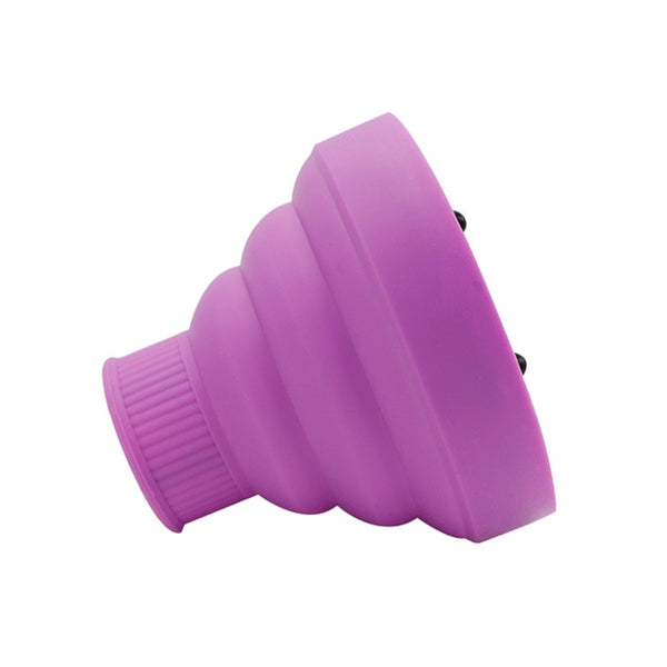 Foldable Silicone Curling Hair Dryer Diffuser For Hair Blower