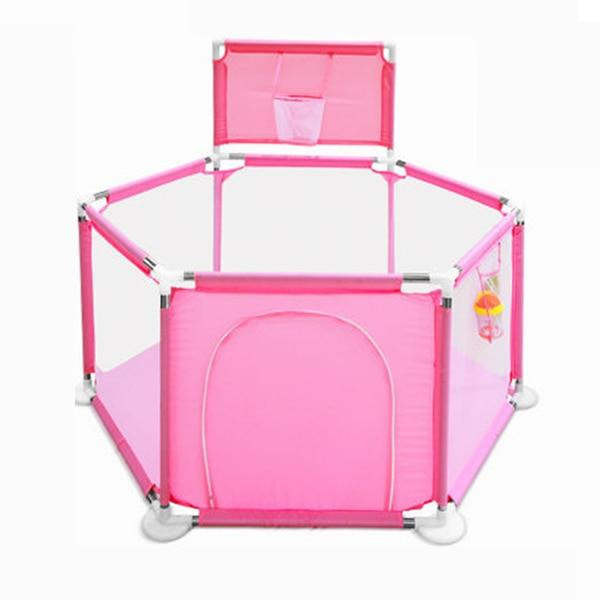 Baby Playpen Balls With Basket