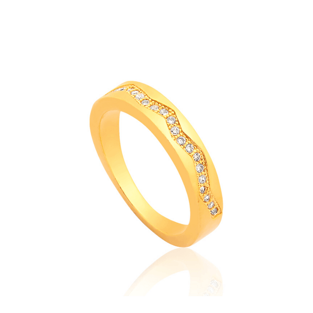 ANILLO DALLAS ORO LAMINADO