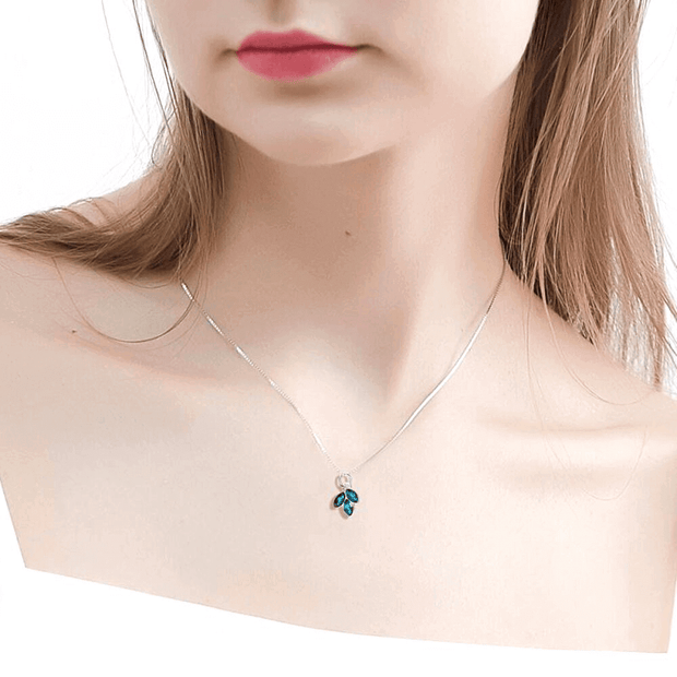 COLLAR PLUM PLATA ITALIANA