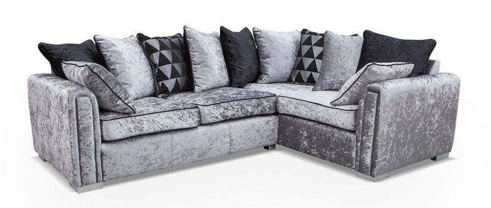 Fabric Corner Sofa - SD115