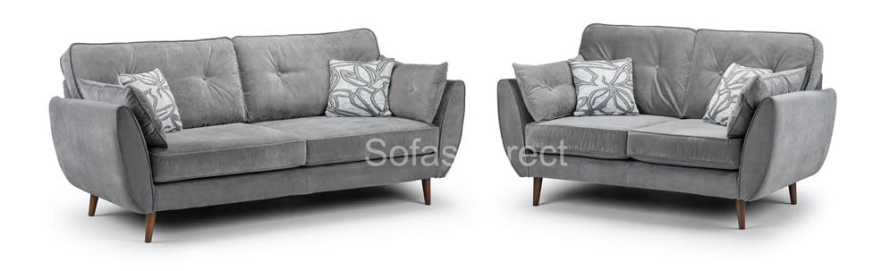 Grey 2 & 3 seat collection