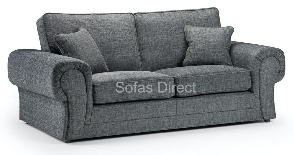 Grey 3 seater