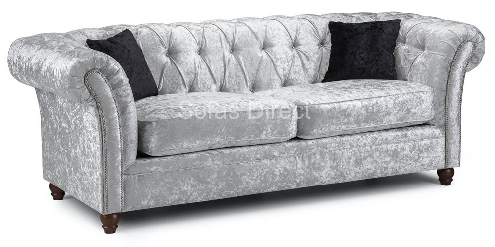 Silver 3 seater