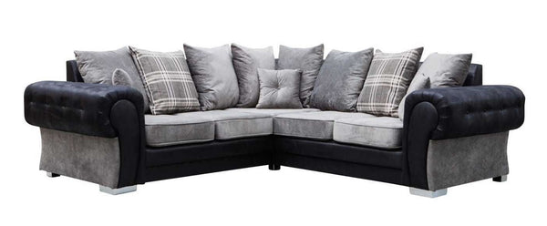 2C2 Large Fabric Corner Sofa - SD119
