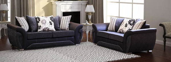 Two Piece Cushion Back Sofa Set - SD120