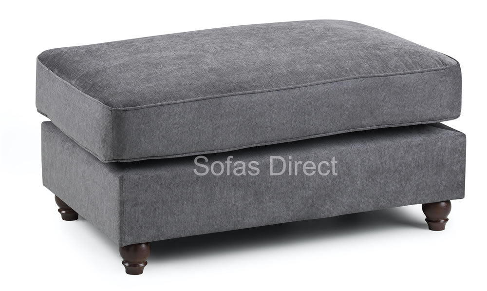 Dark Grey foot stool