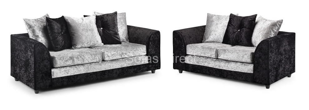 Two piece sofa collection