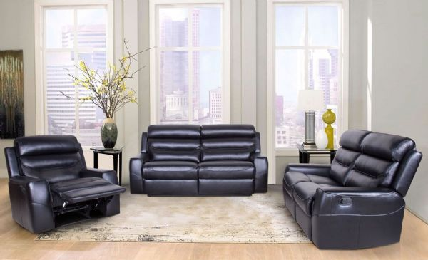 Reclining Leather Suite - SD111