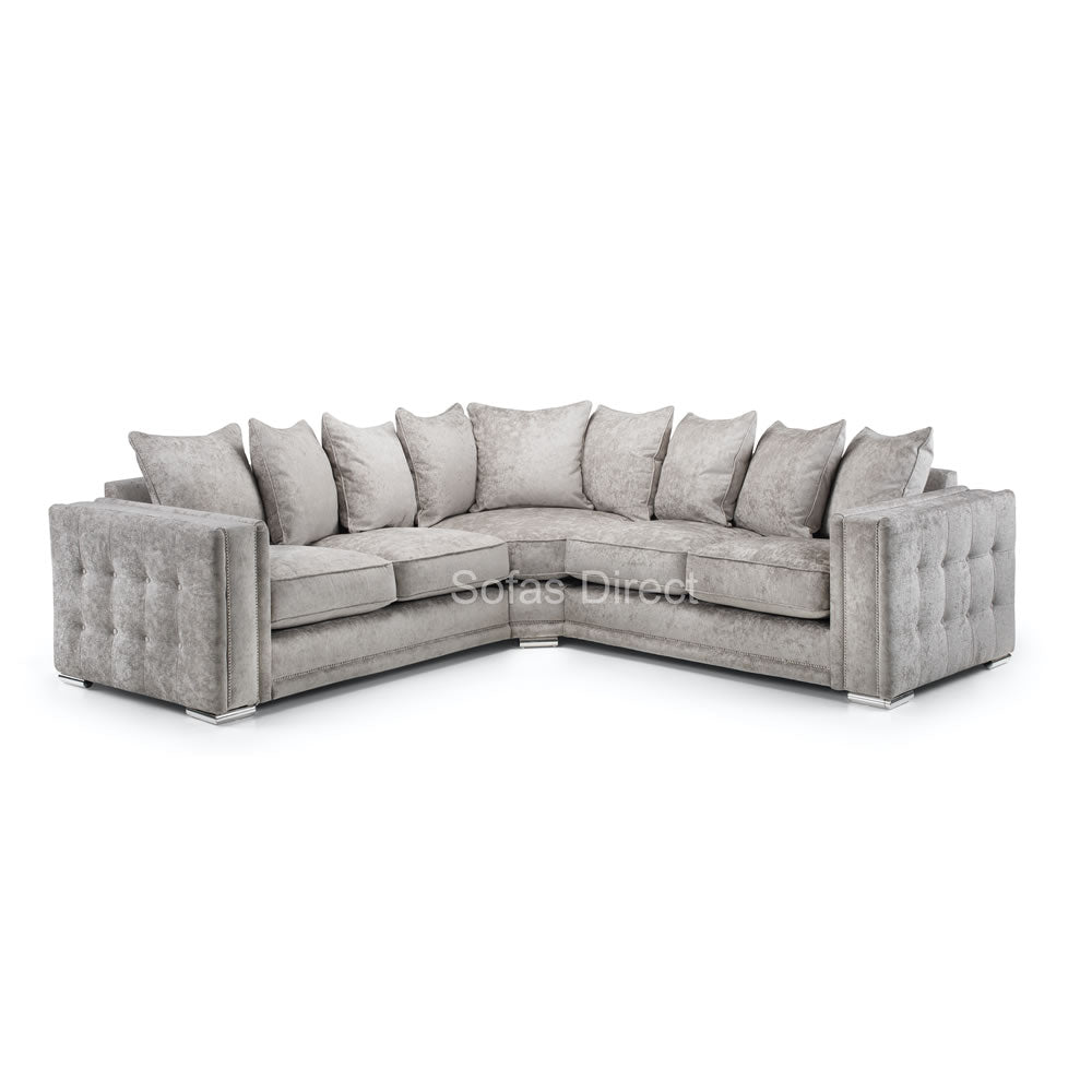 Truffle 2C2 Corner Fabric Sofa - SD142