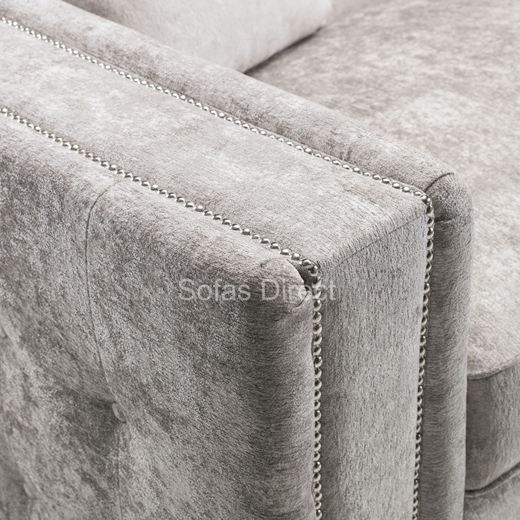 Truffle Three Seat Fabric Sofa - SD142