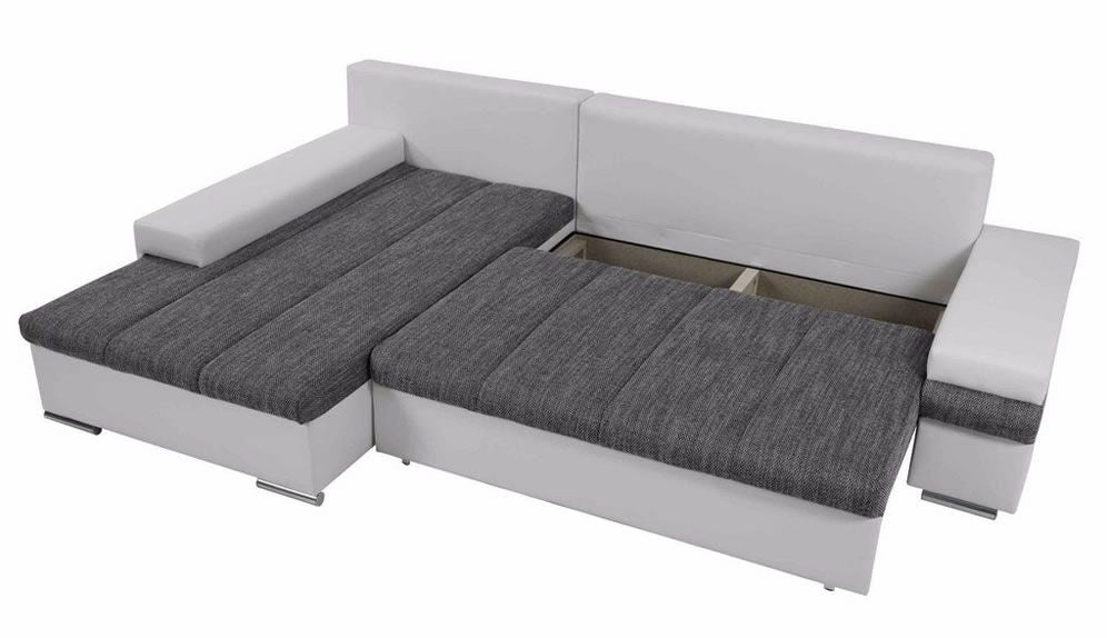Stylish Corner Sofa Bed With Storage - SD109