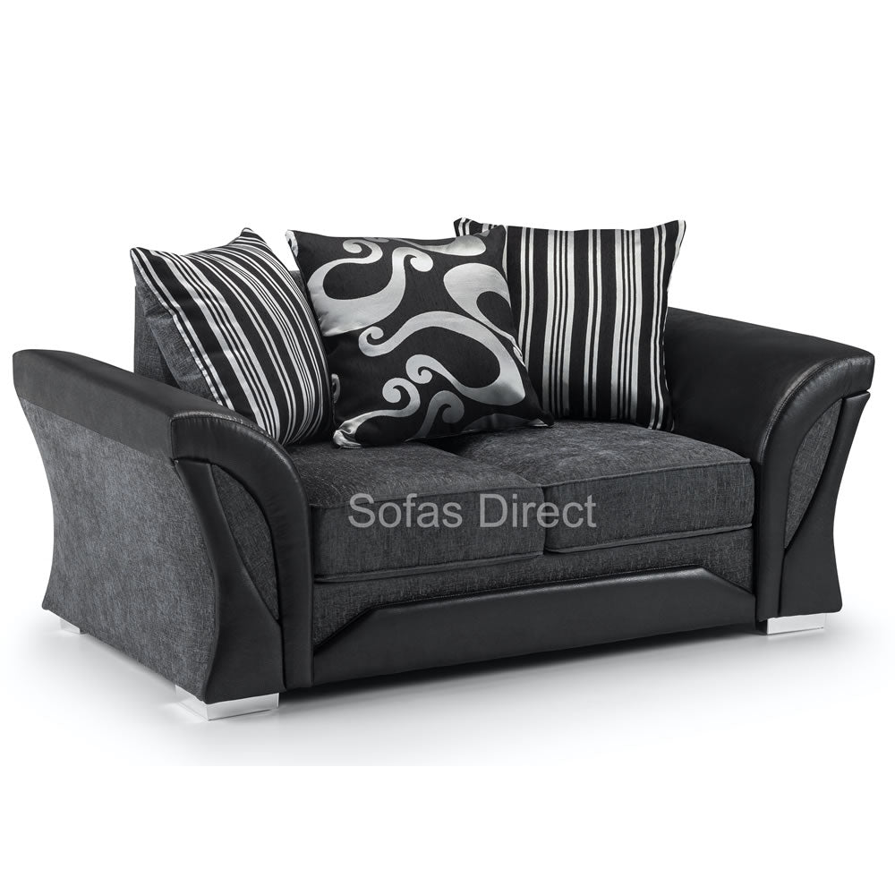 Pillow Back 2 Seat Fabric Sofa - SD069